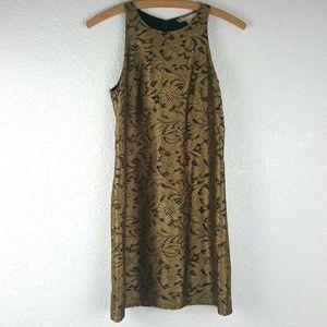 Gold Banana Republic Dress